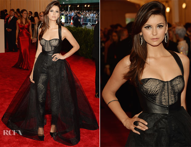 Nina-Dobrev-In-Monique-Lhuillier-2013-Met-Gala