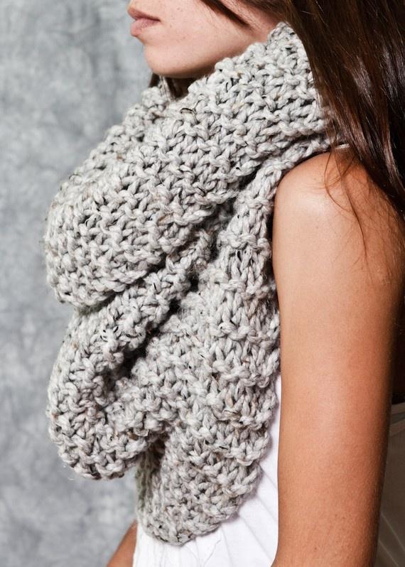 Knit Scarfs!
